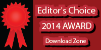 Editor's Choice 2014 Award from Download Zone