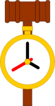 Speech and Debate Timekeeper logo